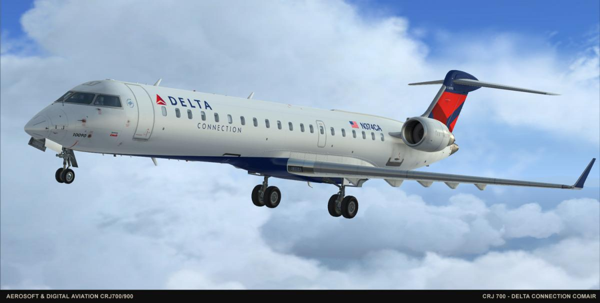 FSB: Aerosoft & Digital Aviation CRJ Previews