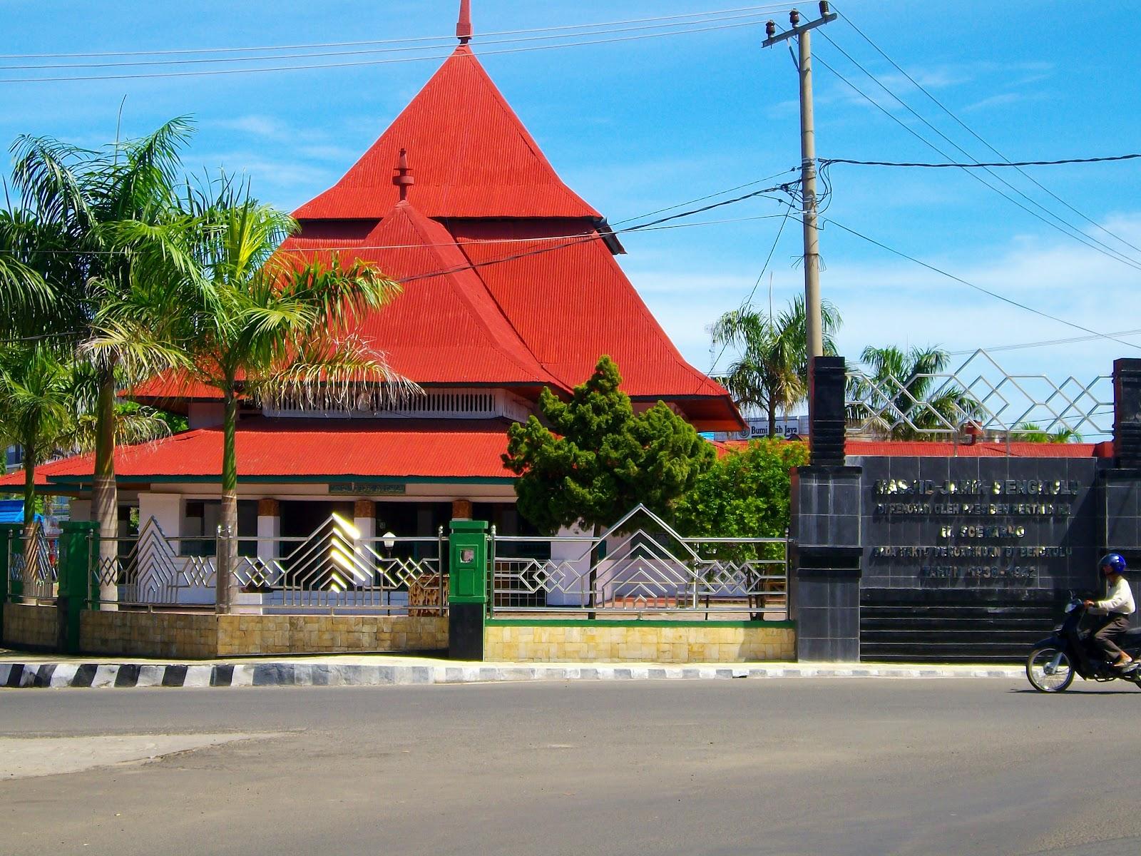 masjid jamik bengkulu 2 bengkulu