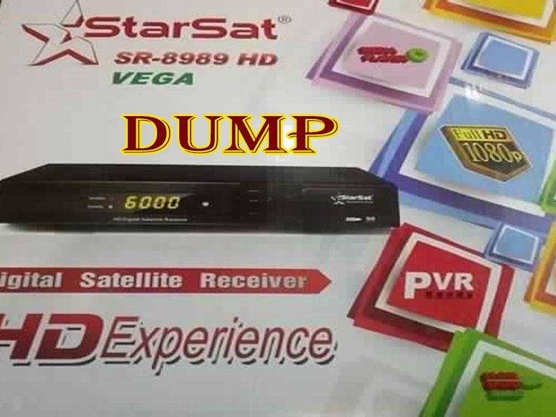 ملف DUMP دامب أصلي ستار سات STARSAT 8989 VEGA