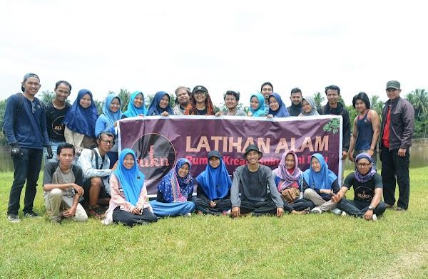 Rumah Kreatif Suku Seni Riau Gelar Latihan Alam