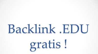 Pengertian backlink edu