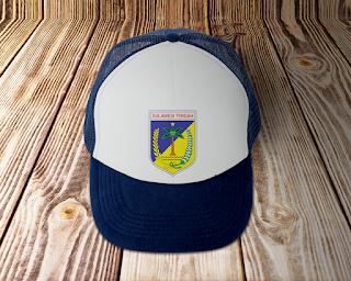 desain topi lambang logo provinsi sulawesi tengah - kanalmu