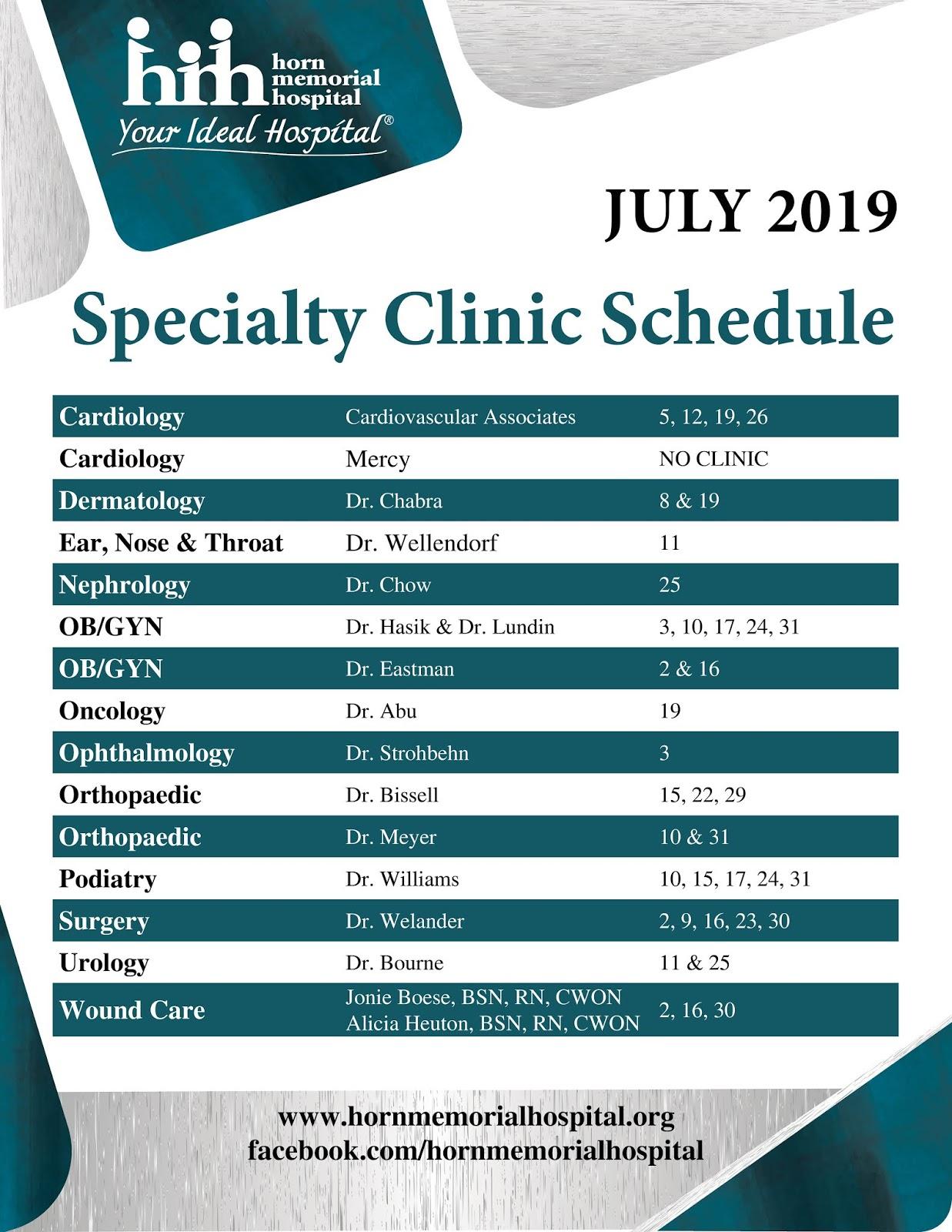 blogger blogjuly specialty clinics