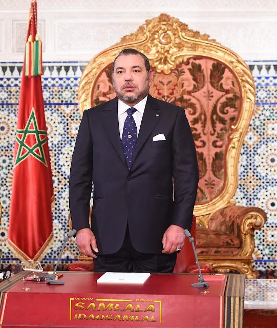 المملكة المغربية : رسالة شكر و إمتنان لملكنا العظيم، ملك المغرب العظيم، أمير المؤمنين محمد السادس نصره الله و أيده