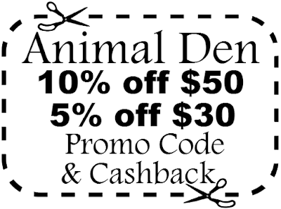 animal den coupon code