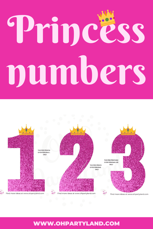 princess-numbers