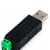 CONVERTIDOR DE USB A RS-485 (IDEAL PARA SIMULADOR DE PROTOCOLOS)