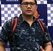 Yuda Sukmagara perwakilan pelaku usaha industri Pariwisata berharap ada solusi untuk peningkatan potensi wisata dalam menunjang perbaikan ekonomi  Sukabumi