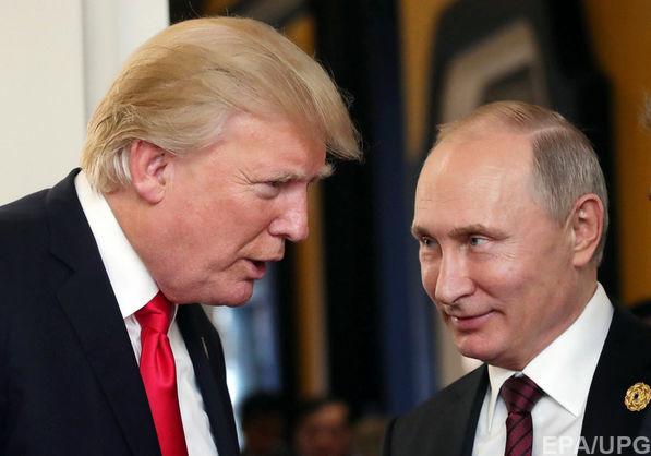 Названо дату та місце зустрічі Путіна із Трампом
