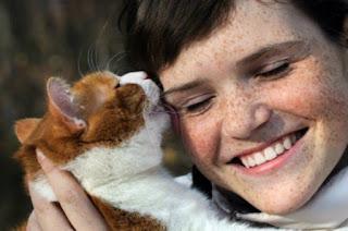"""8 formas inconfundibles en las que tu gato dice """"te amo"""""""