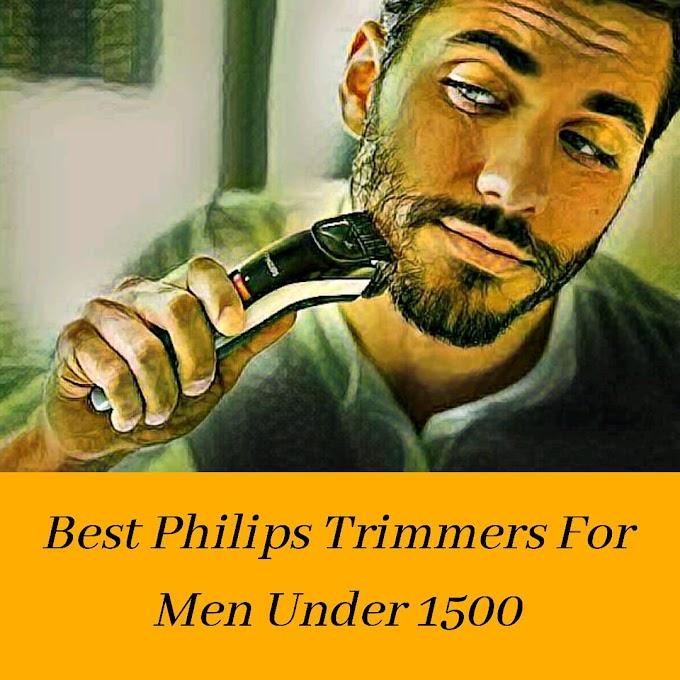 Best Philips Trimmer Under Rs. 1500 | 2020 Updated