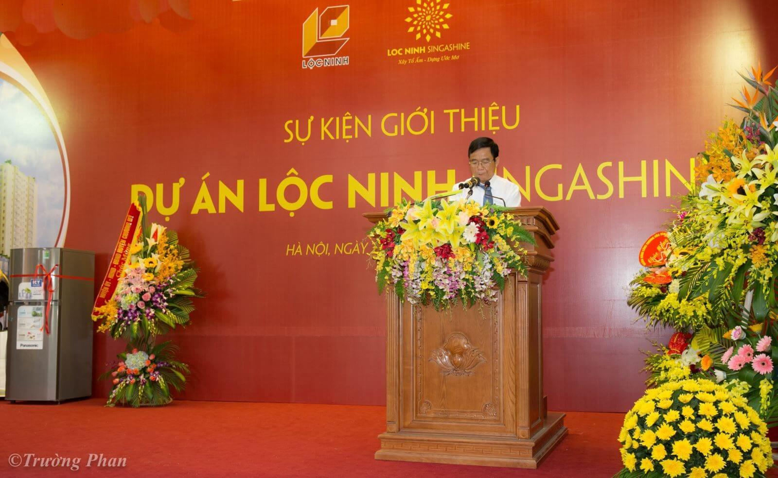 Sự kiện giới thiệu dự án chung cư Lộc Ninh.
