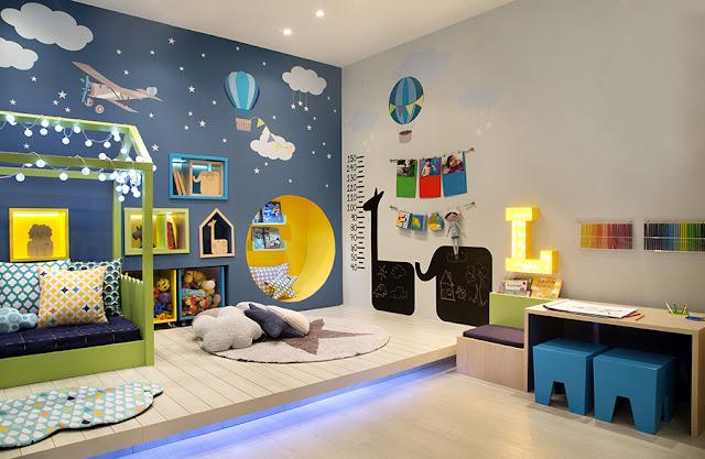 quarto infantil misto blog abrir janela