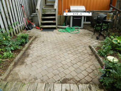 Toronto Playter Estates backyard weeding after by Paul Jung Gardening Services