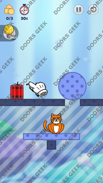 Hello Cats Level 111 Solution, Cheats, Walkthrough 3 Stars for Android and iOS