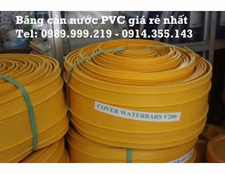 Băng Cản Nước PVC – WaterStop PVC Chống thấm giá rẻ nhất thị trường Việt