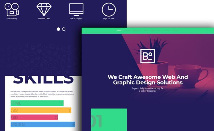 Boxus - HTML5 Template