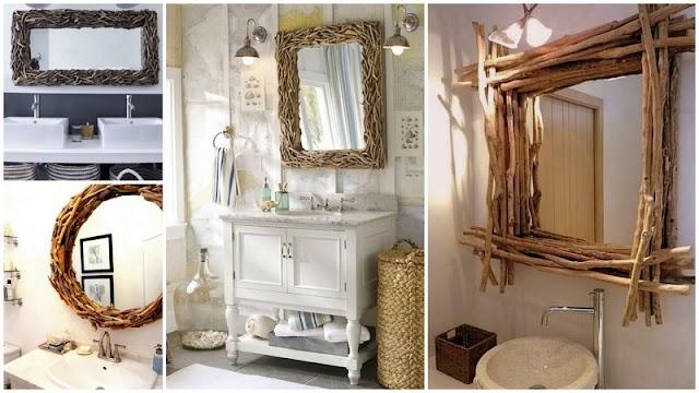 Ο πιο οικονομικός DIY καθρέφτης για το μπάνιο σας