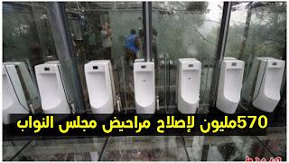 فضيحة...  شراء مراحيض بقيمة 570 مليون لمجلس نواب الشعب