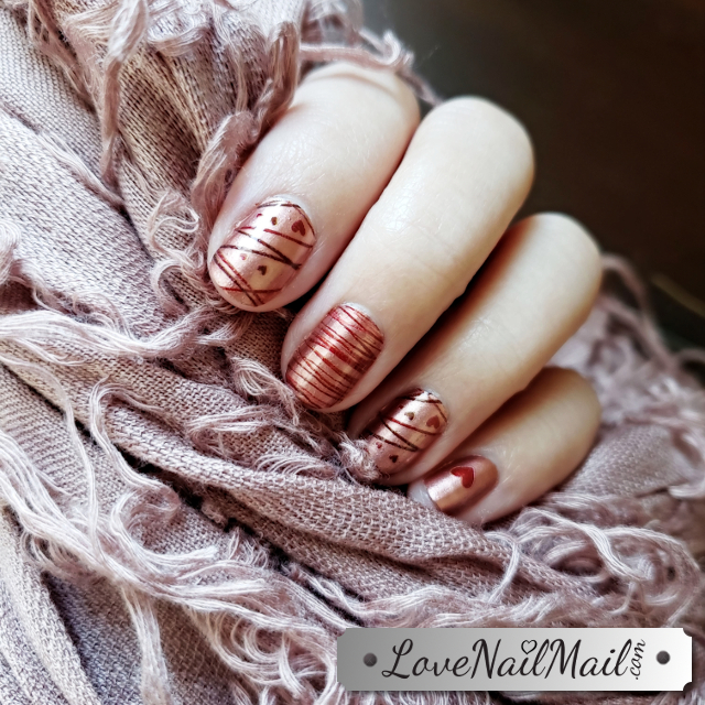 Color Street Whole Latte Love Nailfie  |  www.LoveNailMail.com
