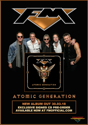 FM - Atomic Generation - new album - signed CD pre-order