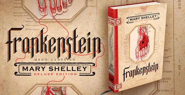 Livro Frankenstein ganha edição ilustrada pela editora DarkSide Books
