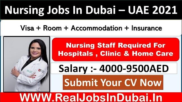 Nursing Jobs In Dubai - UAE 2021