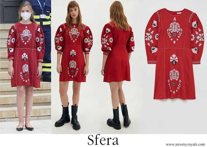 Infanta Sofia wore Sfera dress