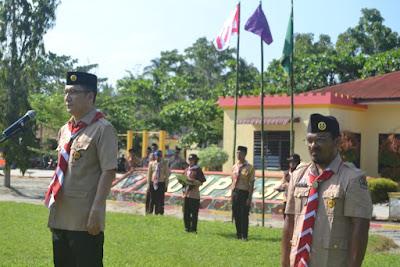 Kakankemenag Tanjungbalai Buka Kegiatan Perkemahan Akbar Tingkat Madrasah
