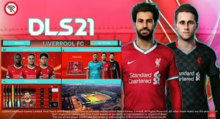 Download DLS 2019 Mod DLS 21 Android Offline Special Liverpool FC Edition New Update Kits & Transfer 2020 - 2021