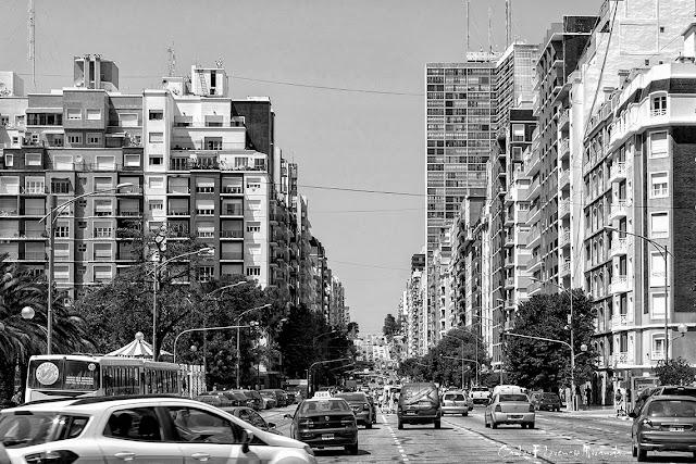 Blanco y Negro de Avda.Colón,Mar del Plata,Argentina