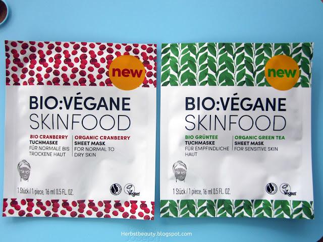 Tuchmaske von Bio:Végane Skinfood