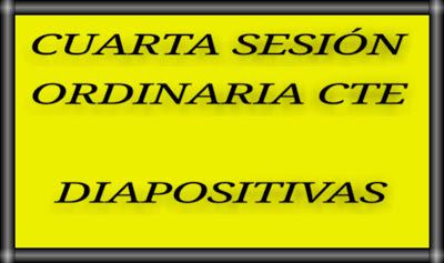 CTE-CUARTA SESIÓN ORDINARIA-DIAPOSITIVAS-EB