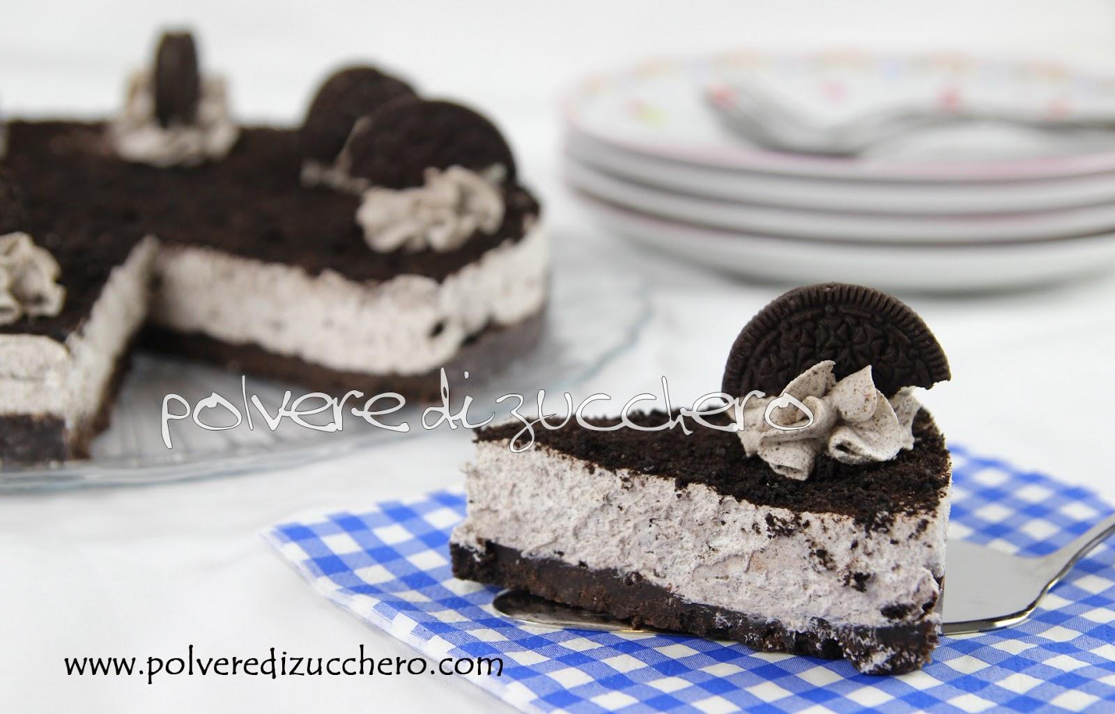 oreo cheesecake tutorial passo a passo polvere di zucchero torta