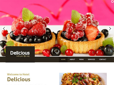restaurants websites templates