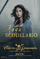 Pirates of the Caribbean Dead Men Tell No Tales Poster Kaya Scodelario 1
