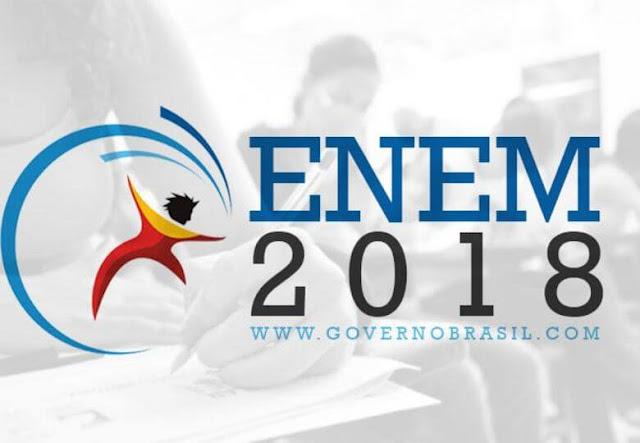 Enem 2018 Inscrições Governo do BRASIL