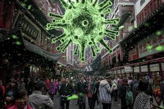 انتشار فيروس كورونا الجديد