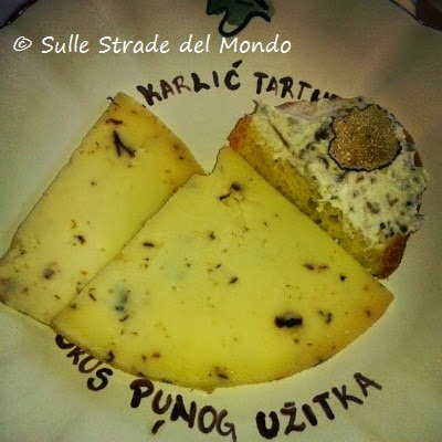 formaggio tartufo istria