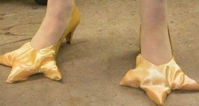 Sapatos Estranhos e Divertidos