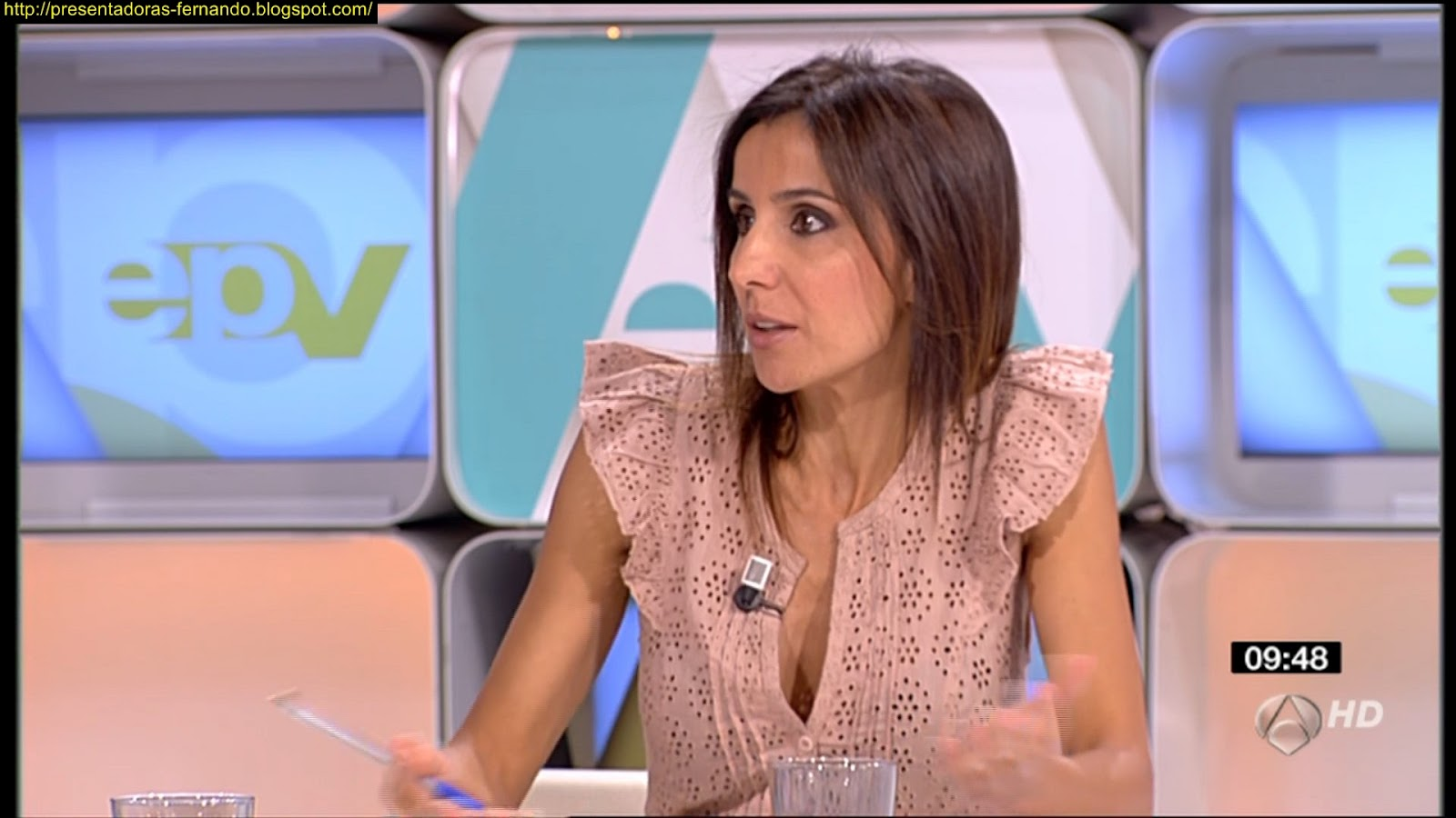 Presentadoras fernando carmen morodo espejo publico for Espejo publico verano