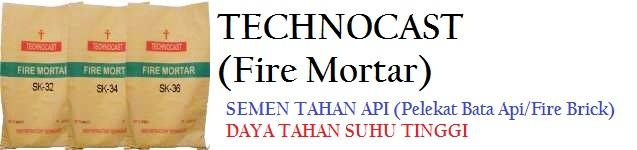 Produk Semen Pelekat Bata Api Berkualitas & Tahan Suhu Tinggi