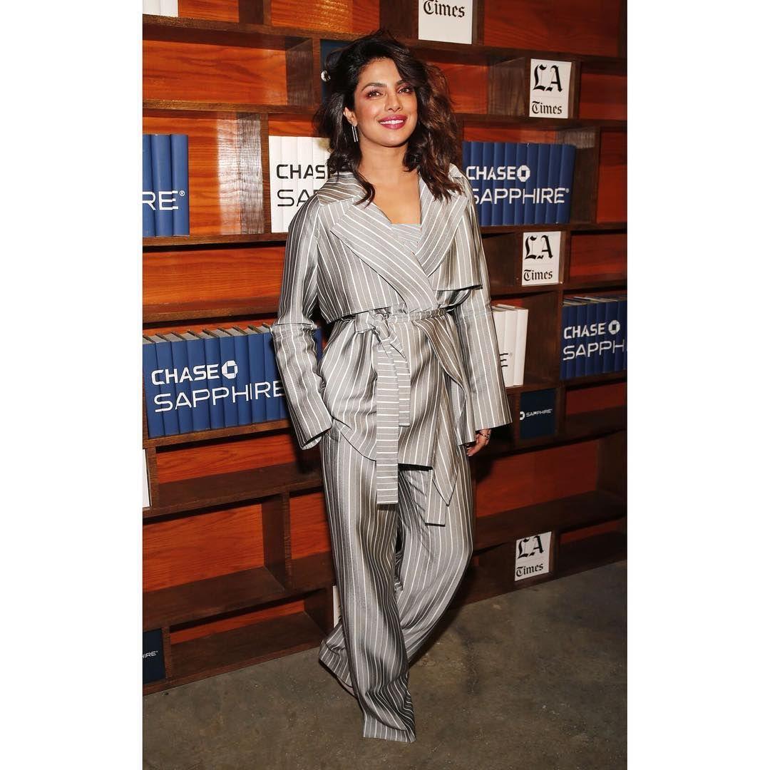 Priyanka Chopra rocks the chic look at the Sundance Film Festival