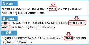 Compatible-Nikon-D3300-lenses