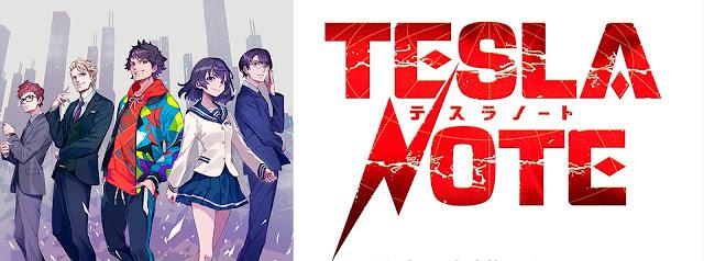 El anime Tesla Note
