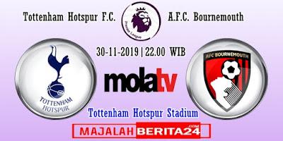 Prediksi Tottenham Hotspur vs Bournemouth — 30 November 2019