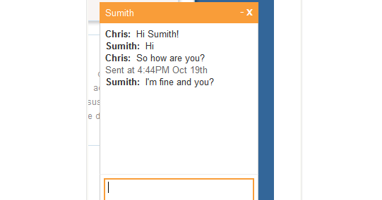 chat example free download in php codeigniter ~ WebSite