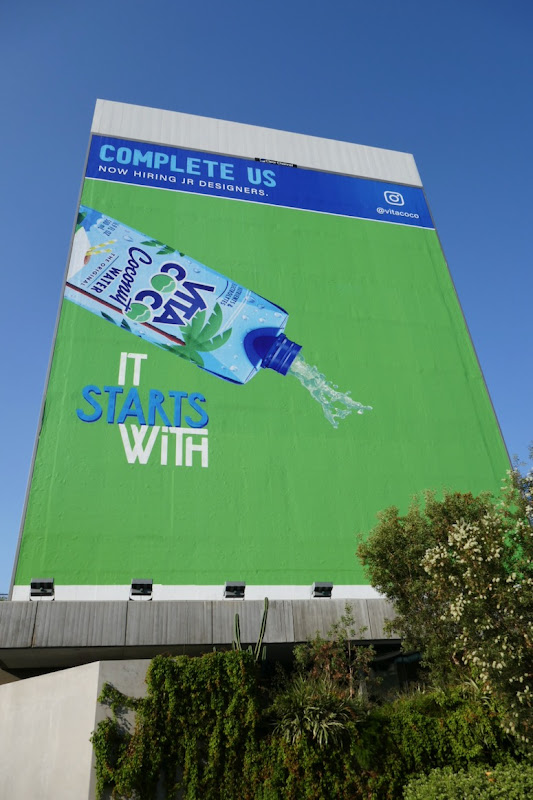 Complete Us Vita Coco It starts with billboard