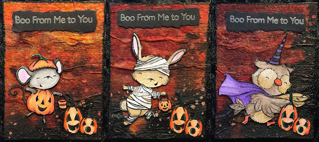 Spooktacular Friends by My Favorite Things Halloween ATC Cards