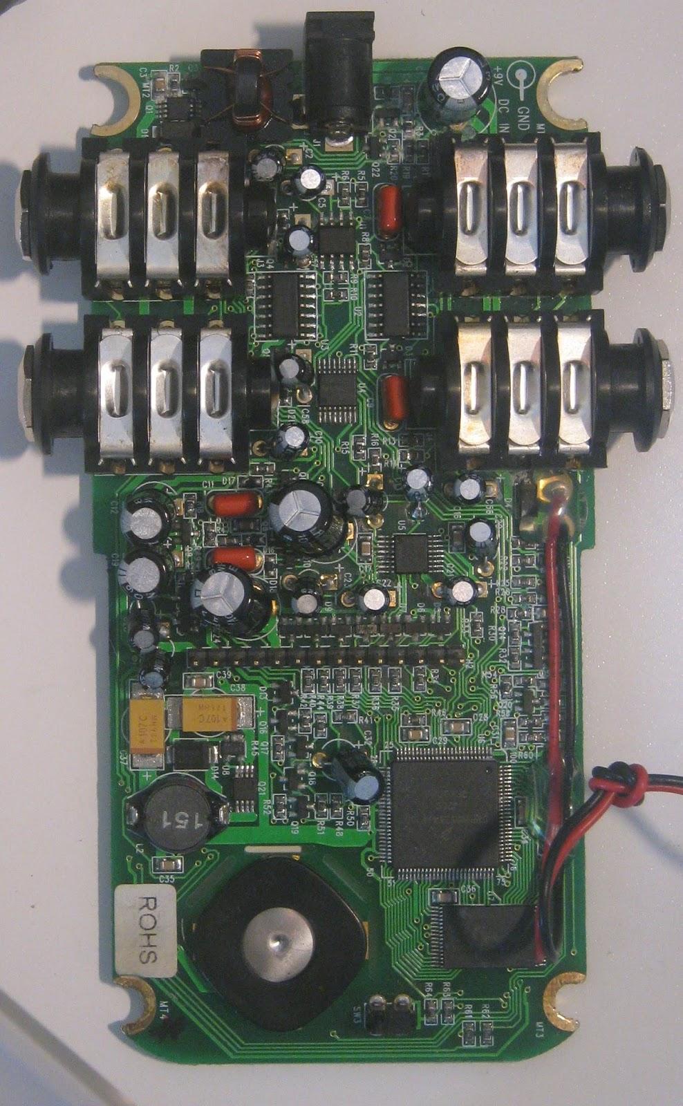 False Electronics Line 6 Echo Park